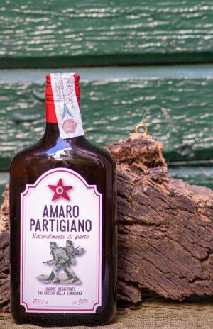 Amaro Partigiano - Liquore di erbe dei boschi resistenti