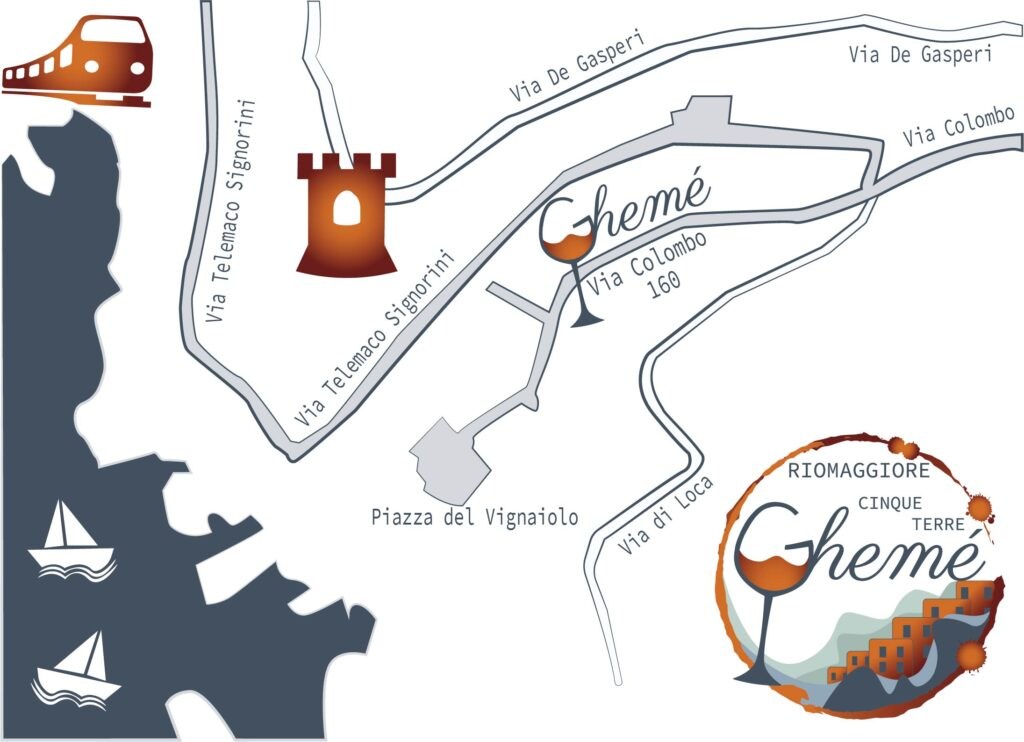 Ghemé shop mappa