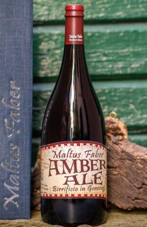 Maltus faber - birra Amber Ale 75 cl