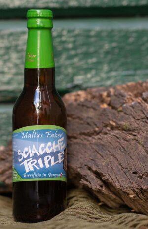 Maltus faber - birra Sciacche Triple 33 cl
