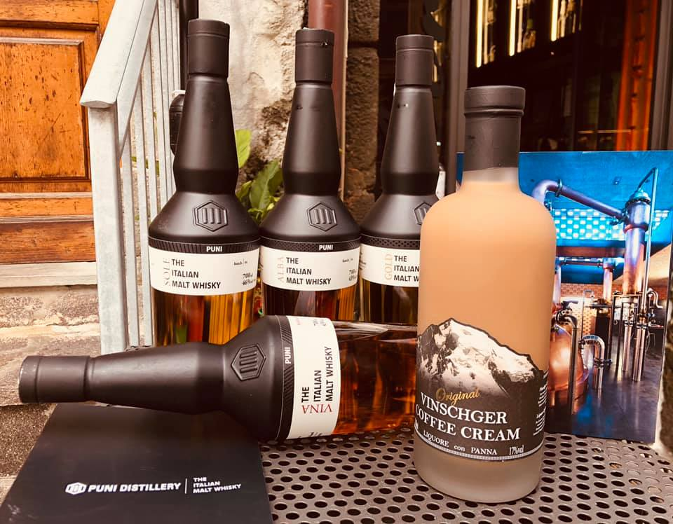 Whisky Puni da degustare al Ghemé