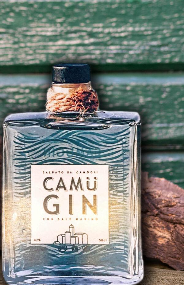 Camu Gin Camogli spirits liquori tipici liguri