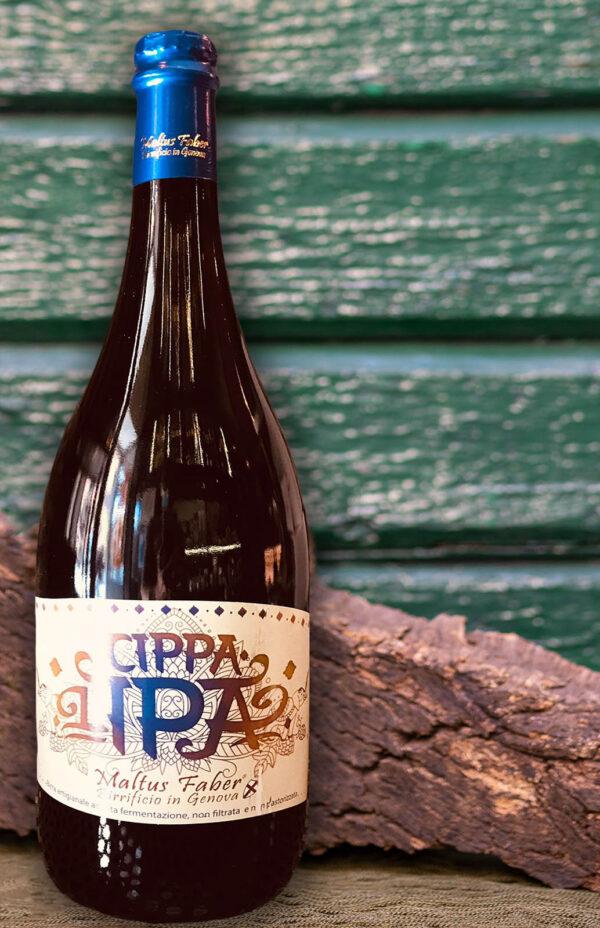 Maltus faber - birra Cippa l'IPA 1,5 L- Enoteca Wine Shop - Cinque Terre Ghemé