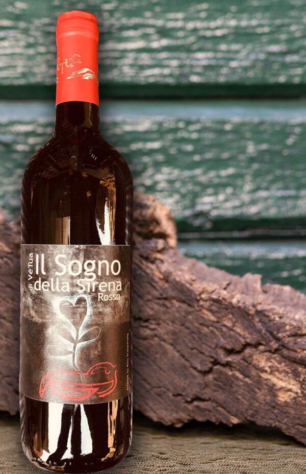 Vetua vino rosso Il sogno della sirena Monterosso